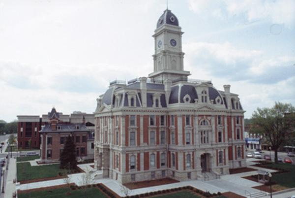 Hamilton County Courthouse Noblesville